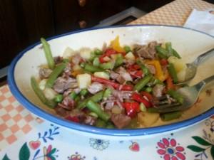 Insalata di manzo di carne chianina
